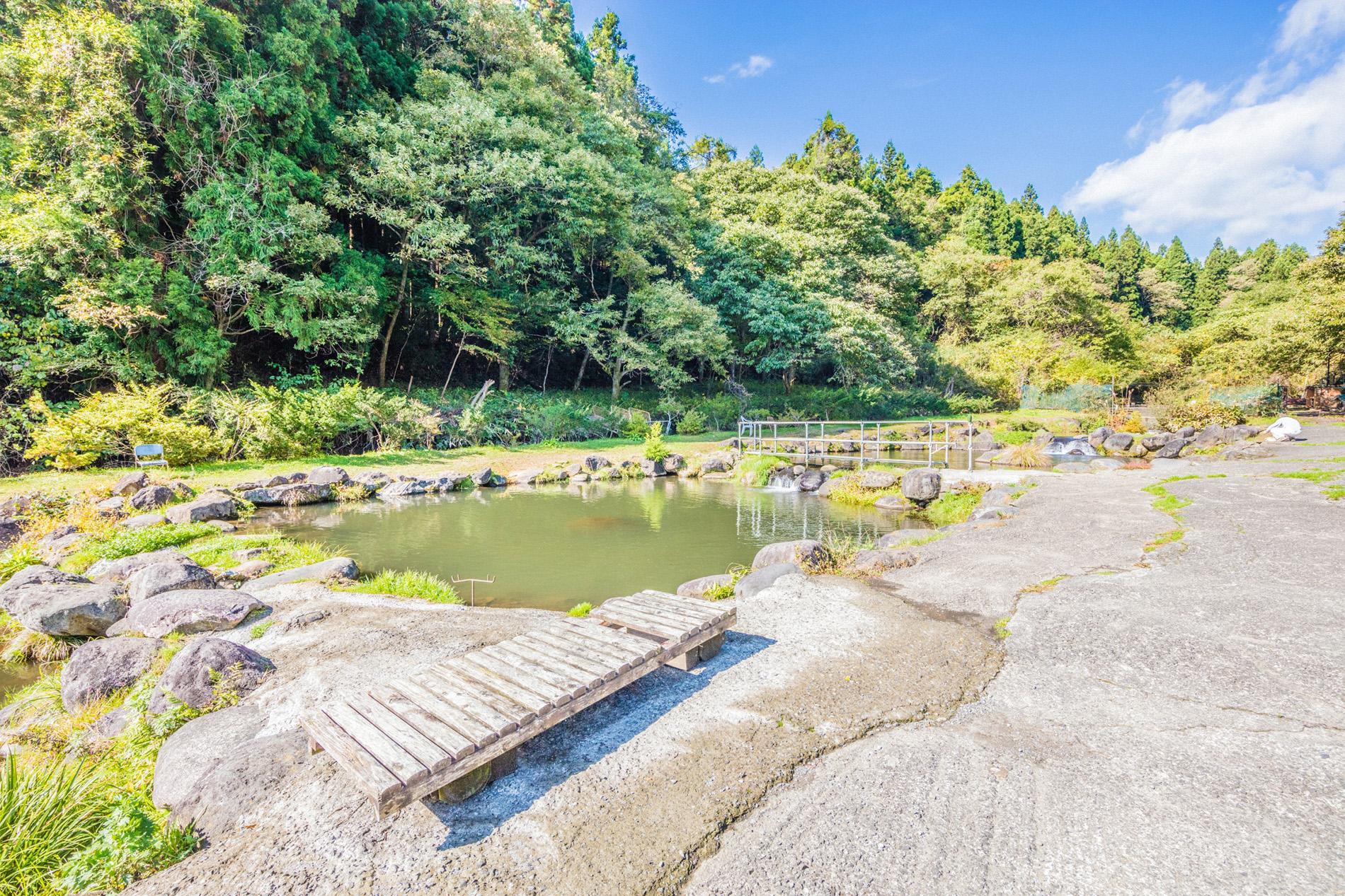 Ohtaki Mountain Stream Fishing Pond