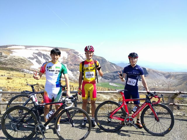 "A must check for cyclist! Bike road race in the mountains ""Nihon-no-Zao Hill Climb Eco"""
