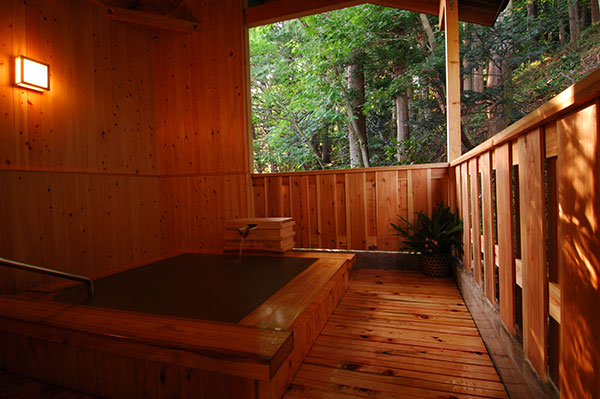 3 selected private onsen in Togatta onsen