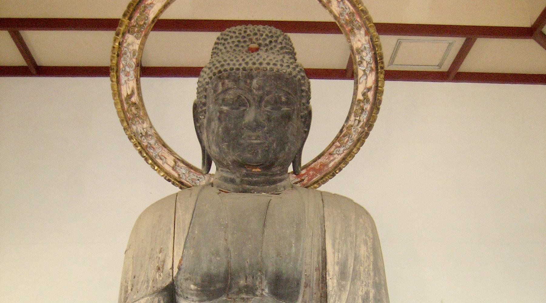 丈六阿彌陀如來坐像